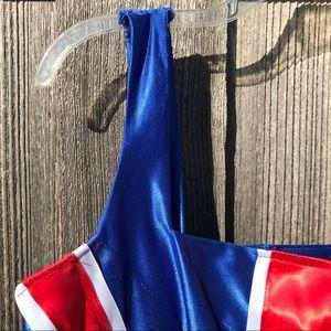 Vintage Other - SPICE GIRLS Vintage Flag Dress & Purse Costume